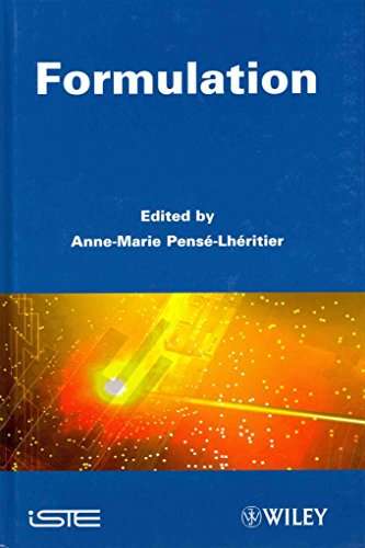 [(Formulation)] [Edited by Anne-Marie Pense-Lheritier] published on (May, 2011)