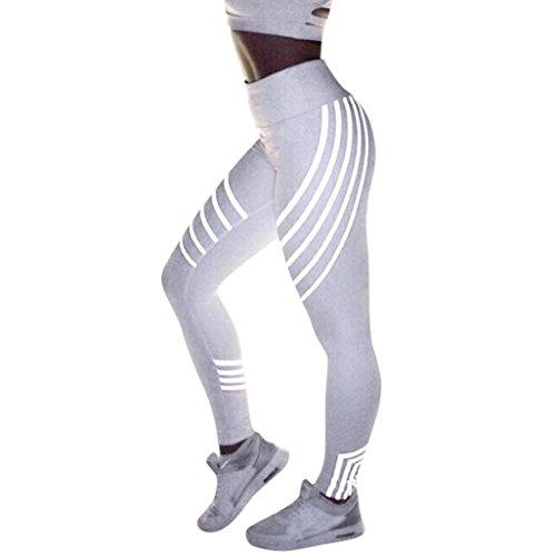 Kobay Frauen Taillen Yoga Fitness Gamaschen, die Turnhallen Ausdehnungs Sport Hosen Laufen Lassen