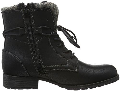 Supremo Damen 1625701 Kurzschaft Stiefel Schwarz (Black)