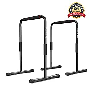 Yaumany Dip Station Dip Barren Parallettes Push up Stand Bar für Dips,...