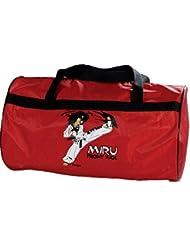 "Kwon Miru 50150 - Bolsa de deporte para niño, diseño de Taekwondo con texto ""TKD Cool"""