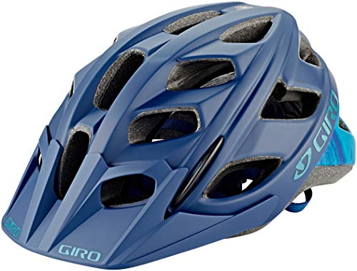 Giro Hex MTB Fahrrad Helm blau 2019: Größe: M (55-59cm) - Mountainbike-helm Giro