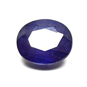 55Karat echtem Saphir Blau Stein 4Karat Original natur oval Lose Edelstein