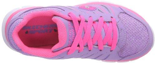 Skechers Synergy, Sneakers Basses Fille Violet (lvpk)