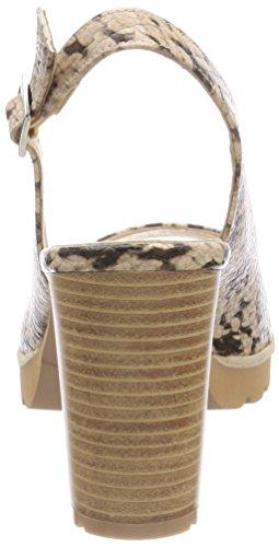 Gadea 40929, Chaussures À Bout Ouvert Pour Femmes Beige (whips Candy)