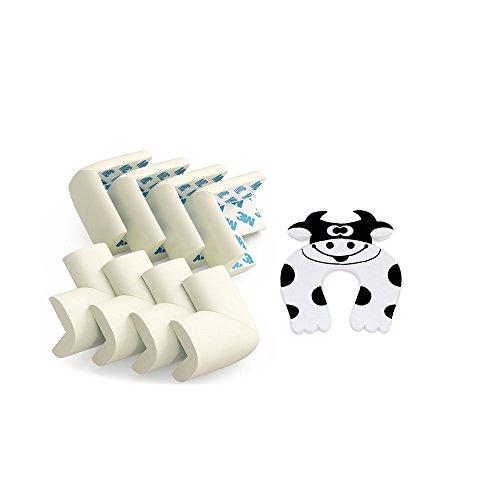 G-Baum-Kantenschutz für Kinder, Baby-Sicherheits-Eckschutz, Kind Proof Klar Corner Bumpers/Kissen für Tisch/Möbel/Sharp Corners/Schrank - Pre-Applied & Long-Lasting 3M Adhesive [8 Pack] (Fisch-spiel-tisch)