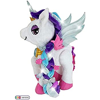VTech Myla The Magical Make-Up Unicorn Toy with Microphone for Kids | Interactive Toy with Kids Microphone and Unicorn Make Up Brush & Palette | Suitable for Children 5, 6, 7+ Year Olds, Boys & Girls