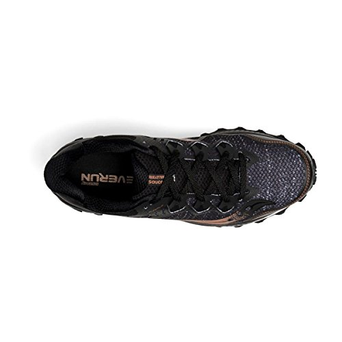Saucony Peregrine 8 Black/Denim - Scarpa Trail Uomo -