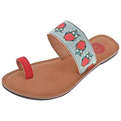 Dash Of Bling Womens Matt Satin Flatform Sandals- 36