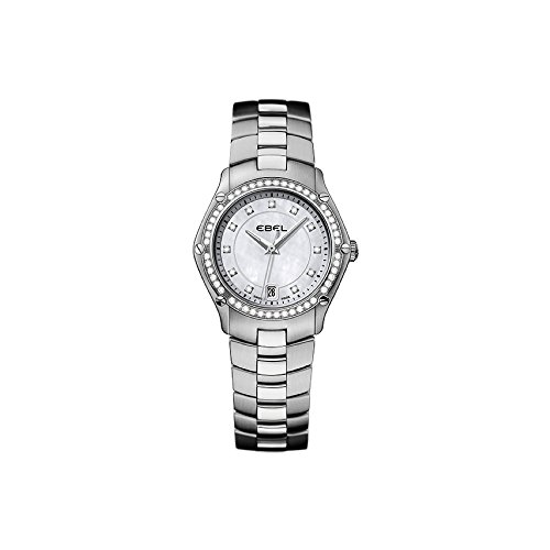 Ebel Women's Analogue Quartz Watch with Stainless Steel Strap 1215983