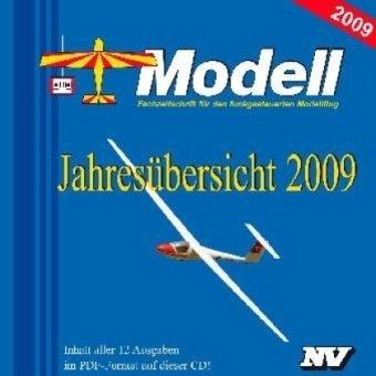 Modell, Jahresübersicht 2009, CD-ROM Fachzeitschrift für den funkgesteuerten Modellflug. Inhalt aller 12 Ausgaben im PDF-Format