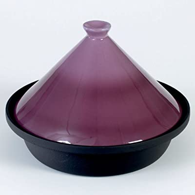 Victor Cast Iron 25 Cm Cooking Tagine In Berry by Victor Kitchenware