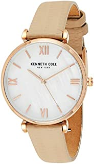 Kenneth Cole Womens CLASSIC with off-white Stainless Steel Bracelet - KC51115002