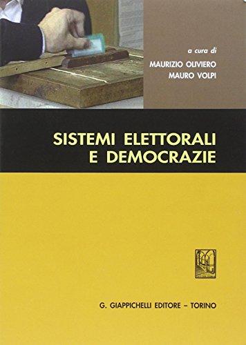 Sistemi elettorali e democrazie