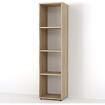 VICCO Raumteiler Scutum 8 Fächer Bücherregal Standregal