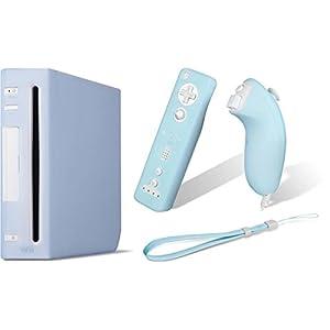 PACK Skin Hülle für Wii Konsole Wiimote Remote Nunchuk
