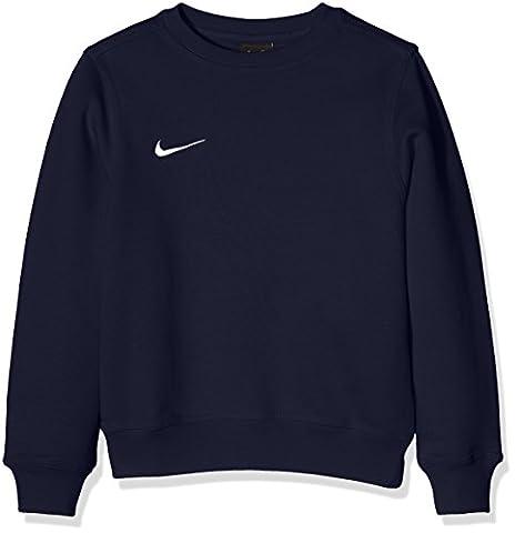 Nike Pull à manches longues pour Enfant Mixte - Bleu (Obsidian/Football White) - S (128 - 137 cm)