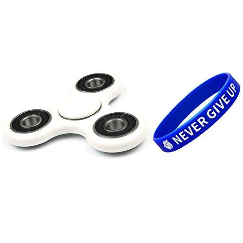 Preisvergleich Produktbild Amnzone Tri-Spinner Fidget Spielzeug mit Hybrid-Keramik und Stahl Lager Stress Reducer - ideal für ADD, ADHS, Angst und Autismus Erwachsene Kinder