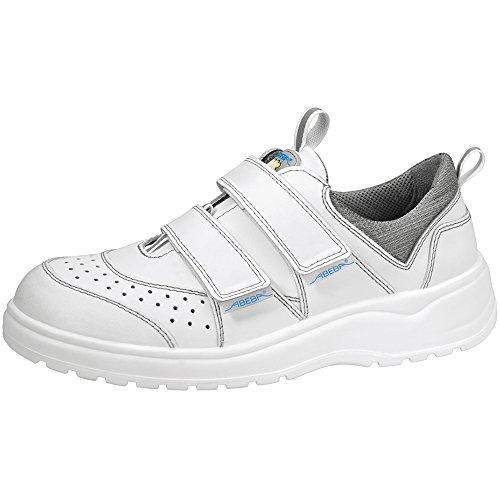 EN SRA Abeba bianco da trasopiranti in 1120 colore lavoro 2012 Scarpe 20347 CE pelle e O1 antistatica White ISO antibatterica FO PPrCTqHxw