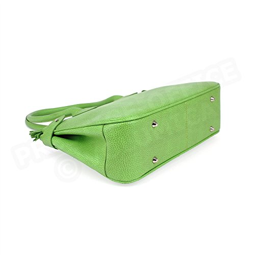 Sac à main paris cuir Fabrication Luxe Française Vert