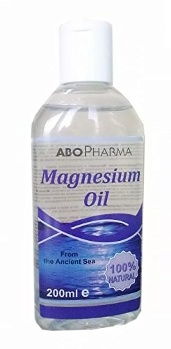 Magnesium Oil (for Topical Application) from the Ancient Sea - 100% Natural -- 200ml by HealthMarket -