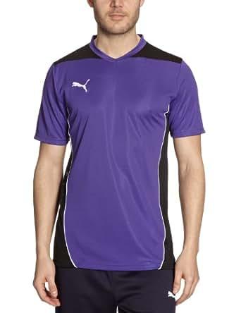 PUMA Herren T-Shirt Foundation Training Tee, Team Violet-Black, S, 653096 10