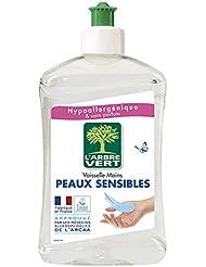 L'Arbre Vert Liquide Vaisselle pour Peaux Sensible 500 ml