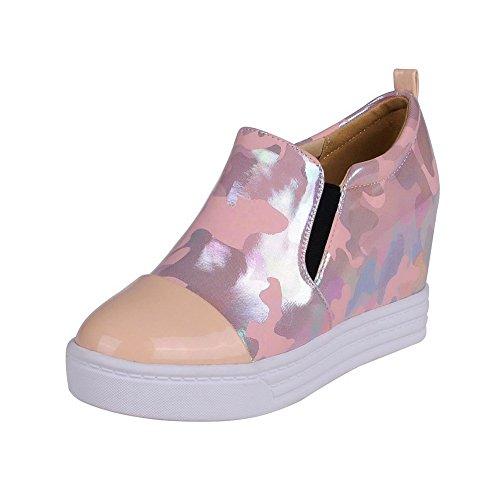 BalaMasa da donna, colori assortiti, motivo: maialino, pompe-Shoes Pink
