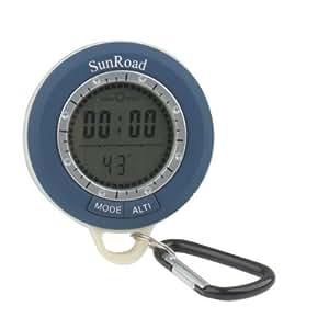 8 En 1 (Altimètre / Record D'Altitude / Réglage D'Altitude / Baromètre / Boussole Numérique / Thermomètre / Prévisions Météo / Heure) Multifonction Altimètre Numérique