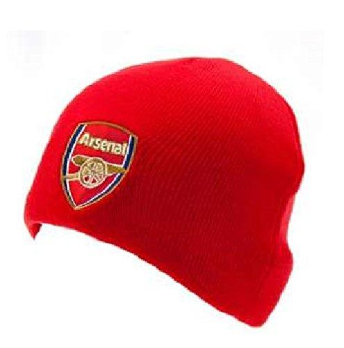 Original Arsenal London FC Wintermütze Mütze Beanie NEU Hut Erwachsen - Arsenal-fußball-hut Fc