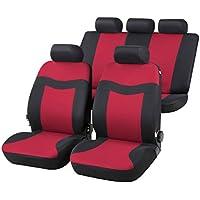 RMG r02a Asientos COMPATIBLES fundas coche negros grises para asientos con airbag reposabrazos y asientos sdoppiabili