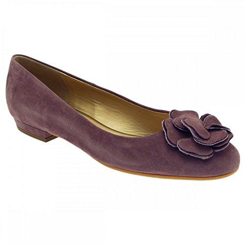 peter-kaiser-rosette-ballerine-violet-plum-suede