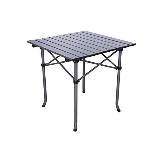 JFJL Table De Plage Pliante Extérieure en Aluminium Petite Table De Pique-Nique Portative Légère Et Compacte pour Camping Intérieur Et Extérieur Plage Natation Randonnée Pique-Nique Barbecue