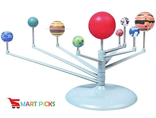 Smart Picks Solar Planetarium System, Silver