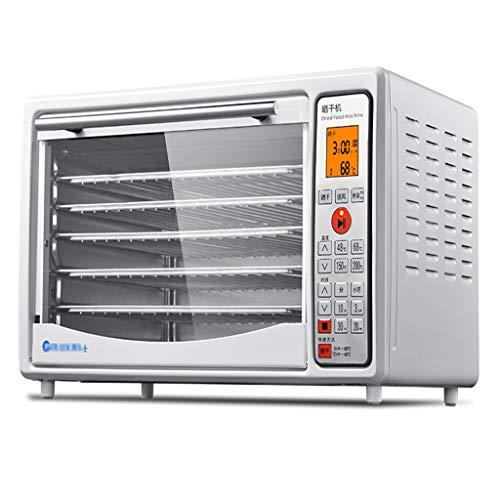 Haushaltsnahrungsmittelkonservierungsmaschine Frucht Dehydrator & Food Back-Box, Multi-Funktions-One-Maschine Dual-Use einstellbare Temperatur Timing 1200w Power Obst und Gemüse Trockner Pizza Kuchen (Mikrowelle Dual Power)