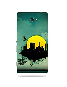 alDivo Premium Quality Printed Mobile Back Cover For Sony Xperia M2 / Sony Xperia M2 Back Case Cover (MKD101)