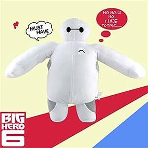 Talking Baymax 46cm Robot Disney Big Hero 6 Soft Stuffed Plush Toy Doll