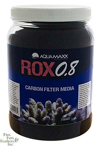 Carbon Filter Media (AquaMaxx ROX 0.8 Carbon Filter Media - 2 Quart by AquaMaxx)