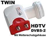 Twin LNB Bauckhage BW 40 T 0,1 db