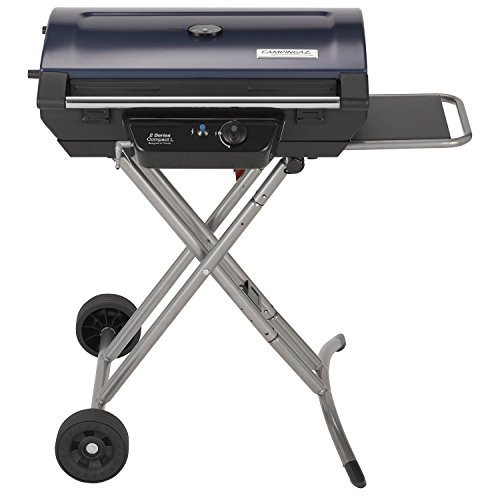 Campingaz 2 Series Compact L Barbecue Gas natural - Barbacoa (Carro, Negro, Rectangular)