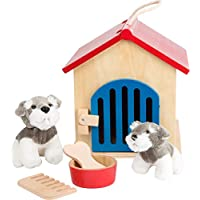 Playmobil Playmobil Hundehütte Hund Fressnapf groß