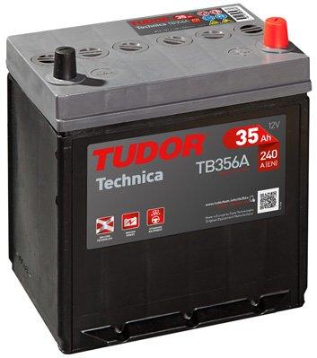 Exide Tudor Technica 35Ah, 12 V. Dimensioni: 188 x 127 x 220. Faretto derecha. auto 15% batteria più potente che gli standard.