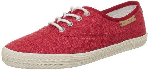 Calvin Klein Jeans RICHELLE CKJ JACQUARD/GROSGRAIN, Scarpe stringate donna, rosso (Rot (Red)), 41