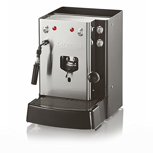 COFFEE POD MACHINE LA PICCOLA SARA VAPORE (WITH STEAM) + 24 ESE PODS MUSETTI