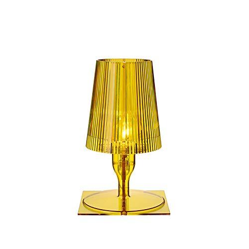 Kartell Take Lámpara de mesa amarillo