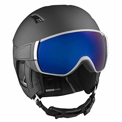 SALOMON Herren Helm Driver+ Visir Helmet