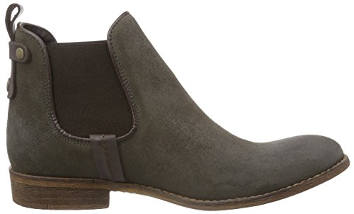 Mustang Chelsea Boot, Stivaletti a gamba corta mod. Chelsea, imbottitura leggera donna Marrone (Braun (318 taupe))