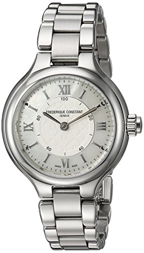 Frederique Constant Women's 'Horological Smart' Swiss Quartz Stainless Steel Casual Watch, Color:Silver-Toned (Model: FC-281WH3ER6B)