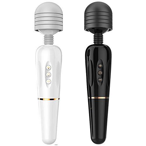 HOUYAZHAN Weibliche Aufladung AV-Stick Masturbation Massage Stick Vibrator Adult Erotic Sex Toy (Farbe : Black - 275 * 55mm)