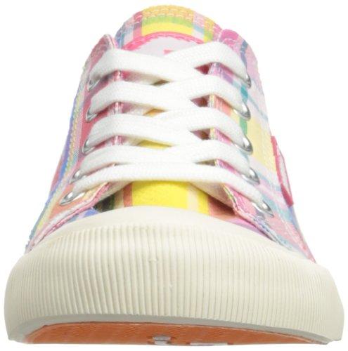 Rocket Dog Jazzin, Baskets mode femme Rose (Candy Shop Pink)